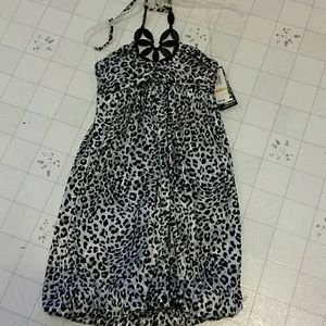 Juniors animal print dress